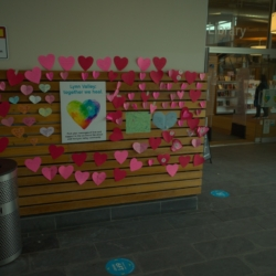 All of these messages of love were so beautiful and moving